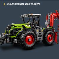 レゴ互換ブロック テクニックシリーズ CLAAS XERION 5000 TRAC VC 風