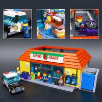 ザ・シンプソンズ KWIK-E-MART  LEGO互換ブロック  16004
