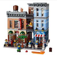 クリエーター 探偵事務所風 レゴ互換ブロック 15011