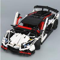 ランボルギーニ アヴェンタドール スーパーカー風 LEGO互換ブロック