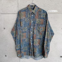 柄シャツ gdv268