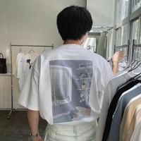 my bedroom back print Tシャツ