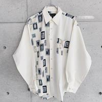 柄シャツ gdv259