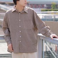 チェックシャツ gdh216b