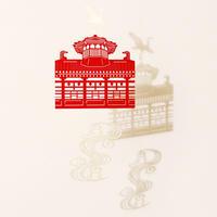 飛鳥乃湯泉「RED」#paper ornament