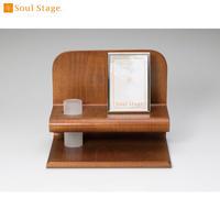 MAO-SS-833 Soul Stage ソウルステージ R(アール) ブラウン  手元供養専用ステージ