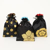家紋巾着(信長・光秀・総柄)(1個)