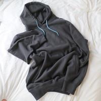 "Over hoodie dark gray ""SIIILON"""