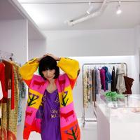 Sofio Gongli  Colorful hand cardigan