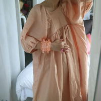 Raama Dress-15.Coral Pink-C