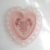 vintage heart tray