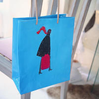 "BIRDMAN & GIGINA ART BAG""turquoise"""