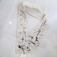 The DRAWING SCARF