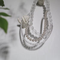 florian  necklace  white