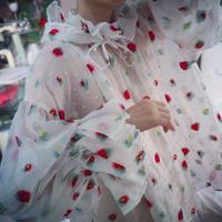 """FLOWER blouse """"SIIILON"""""""