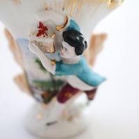 """Vintage ceramic vase""""Z"""""""