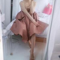2way frill dress