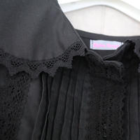 Gigina unique girl dress black