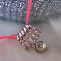 Spiral Ring  Silver
