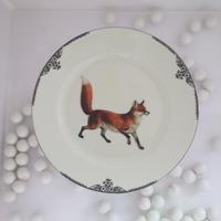 """vintage poselein plate""【J】"