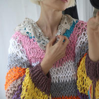 DOROP STITCH SWEATER  BRIGHT VARIATION