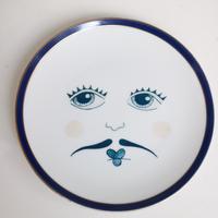 """M""""vintage porselein plate""""【L】"""