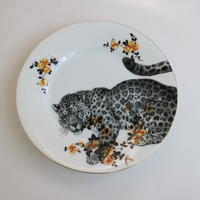 """vintage porselein plate""【C】"