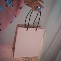 UNKNOWN PRODUCTS  Leather Paper Bag(pink)