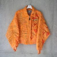Vava Dudu Orange Bomber jacket