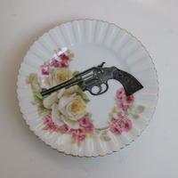 """vintage porselein plate""【E】"
