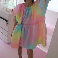 """Coloreatipico""RAINBOW DRESS"