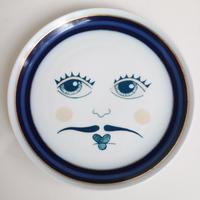 """vintage porelein plate""【M】"