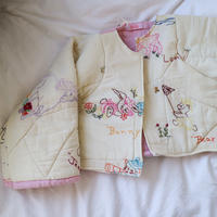 Cropped Quilt Coat Animal