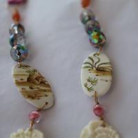 Joke Schole ceramic necklace