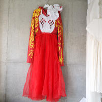 "Red hoodie dress ""vava dudu"""