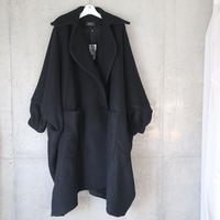 """FRANZIUS""  Big Coat Black"