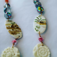 Joke Schole ceramic necklace