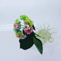"Vintage flower vase""W"""