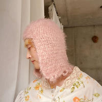"MILOU...knit hat"" antique pink"