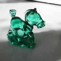 Vintage glass objet