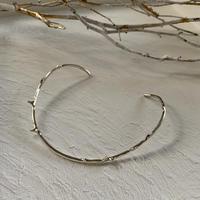 branch choker / silver 925