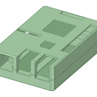 3Dデータ Raspberry Pi B+用ケース