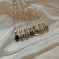 ivy necklace  /  silver925