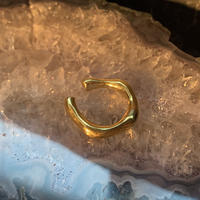 bamboo ring  / 18kgp