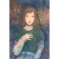 横田華乃 日本画 「stranger」
