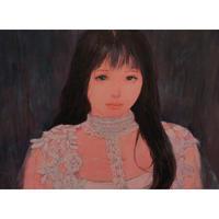 赤崎りおの 油彩画 原画 『夢子』