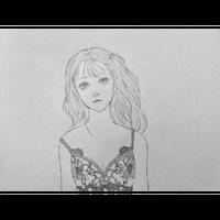 吉田紋 描き下ろし原画「いつまでも」