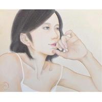 村上 恵実 原画「過ぎゆく時」