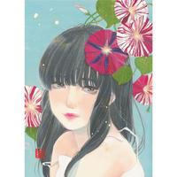 吉森百子 「おはよ。」複製原画 10枚限定!!  のコピー  のコピー