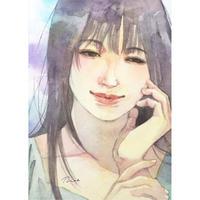 綾坂璃緒 美少女に会いたいⅡ展示作品「ふとした瞬間に」